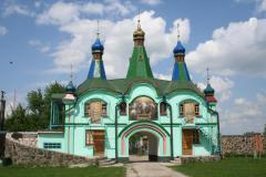 Вхід в Старочортирийський чоловічий монастир